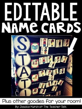 Editable Name Cards & Extra Goodies!