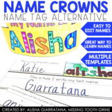 Editable Name Crowns