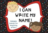 Name Reading and Writing Cards {CHOOSE YOUR FONT}