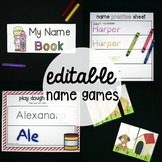 EDITABLE Name Games