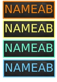 Editable Name Labels