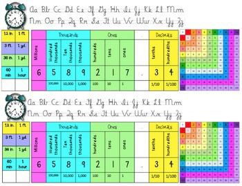 Upper Grades Editable Name Plate