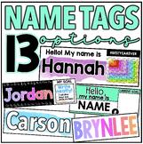 Name Tags [8 OPTIONS]