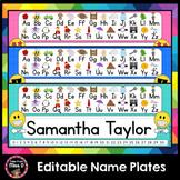 Name Tags / Nameplates EDITABLE