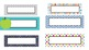 Editable Name Plates - 49 Styles!