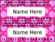 Editable Name Plates English & Spanish