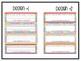 Editable Name Plates: Rainbow Pop