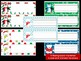 Editable Labels and Name Tags : Penguins and Polar Bears, Christmas, Winter
