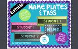 Editable Name Plates and Tags