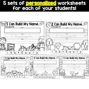 Name Building - Editable