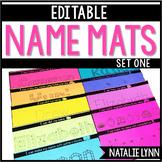 Editable Name Practice   Editable Name Activities