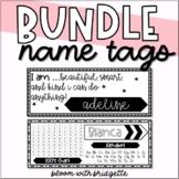 Editable Name Tag BUNDLE