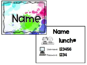 Editable Name Tag Necklaces