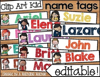 It's just a photo of Invaluable Free Printable Classroom Name Tags