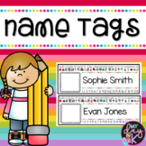 Editable Name Tags