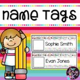 Editable Name Tags