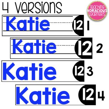Editable Name Tag Labels