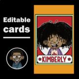 Editable Name Tags, Book Bin Labels & Classroom Jobs