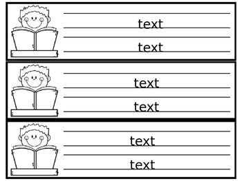 Editable Name Tags- Easy Ink Saver