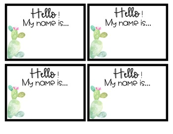 Editable Name Tags - Editable Name Plates