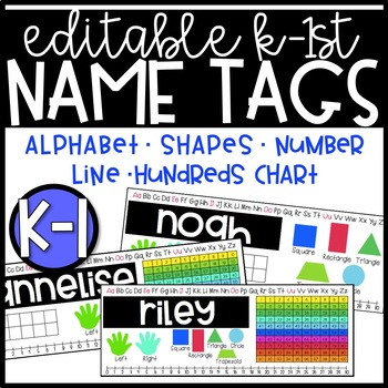 Editable Name Tags K-1
