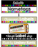 Editable Name Tags & Labels (Target Label Size)