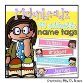 Editable Name Tags { Melonheadz Theme }
