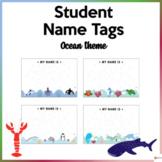 Editable Name Tags Ocean Theme