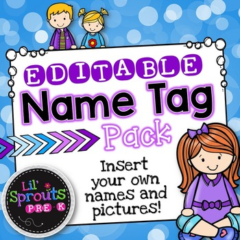 editable name tags printable name tag pack