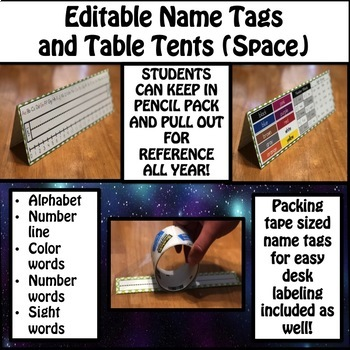 Name Tags (Space)