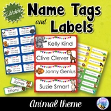 Editable Name Tags and Labels - Animals