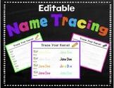 Editable Name Tracing