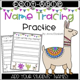 Editable Name Tracing Practice