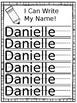 Editable Name Writing