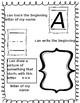 Editable Name Writing Page