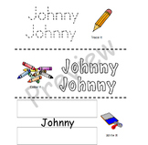 Editable Name Writing Practice