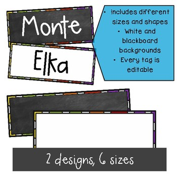 Editable Name tags ~ Editable labels