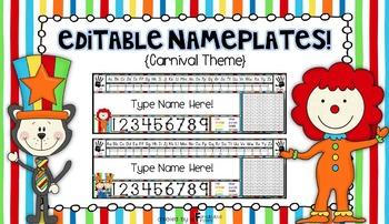 Nameplates