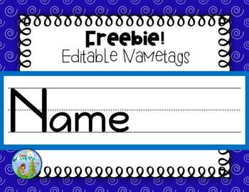 Editable Names