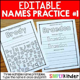 Editable Names Set 1