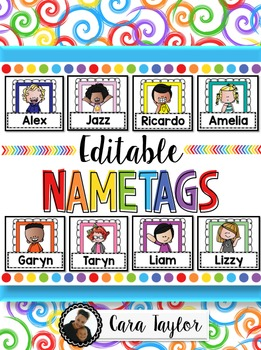Editable Nametags