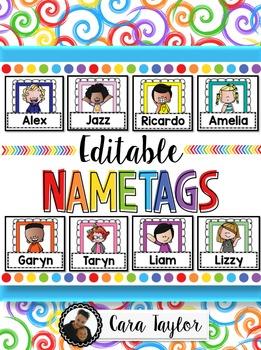 Editable Nametags
