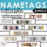 Editable Nametags BUNDLE | Classroom Decor