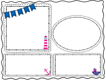 Editable Nautical Classroom Newsletter