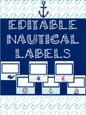Editable Nautical Labels