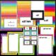 Neon Newsletters Teacher Templates Editable