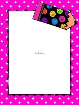 Teacher Binder & Notebook Covers *Editable*  {Neon Pink Theme}