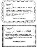 Editable New Student Lunch Invitation