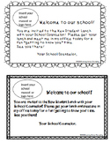 Editable New Student Lunch Invitation