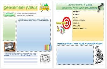 Editable Newletter Templates